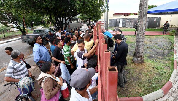 Refugiados venezolanos en Brasil - Sputnik Mundo