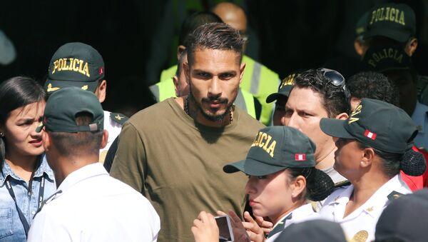 Paolo Guerrero, futbolista peruano - Sputnik Mundo