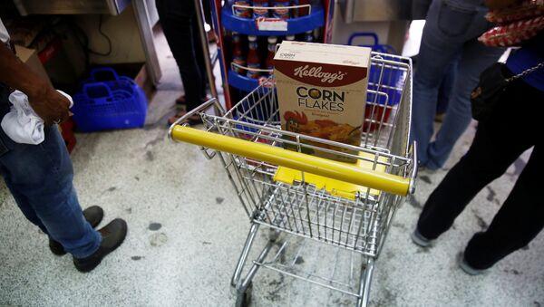 Alimentos de la empresa Kellogg's en Venezuela - Sputnik Mundo