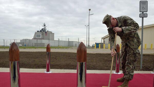 El sistema del defensa antimisiles Aegis Ashore - Sputnik Mundo