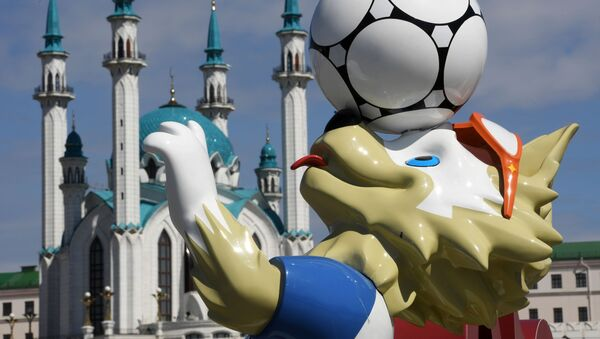 Un paseo por las sedes del Mundial de Rusia 2018: Kazán - Sputnik Mundo