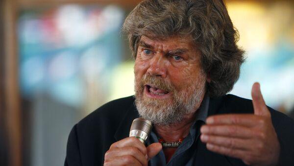 Reinhold Messner, alpinista italiano (archivo) - Sputnik Mundo