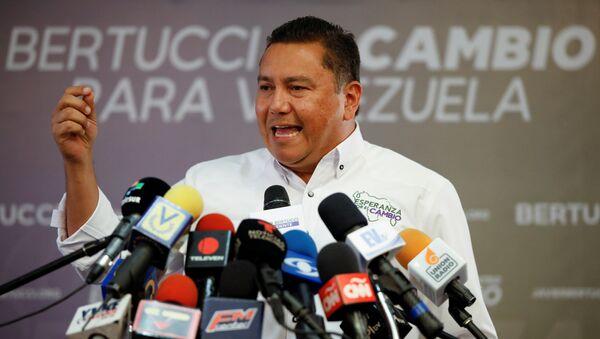 Javier Bertucci, candidato a la presidencia de Venezuela - Sputnik Mundo