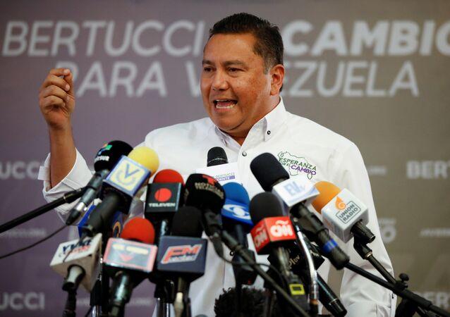 Javier Bertucci, candidato a la presidencia de Venezuela