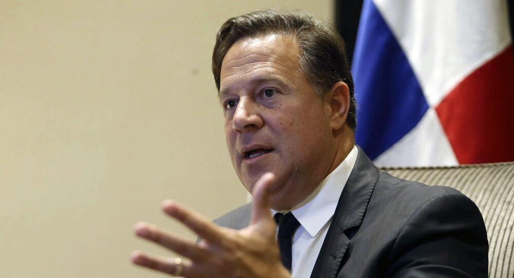 Juan Carlos Varela, expresidente de Panamá