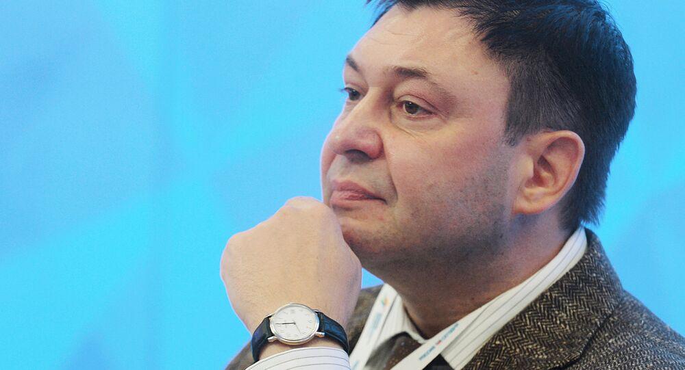 Kiril Vishinski, jefe del portal de noticias RIA Novosti Ukraina