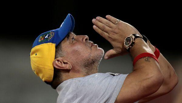 Diego Maradona, el legendario futbolista argentino - Sputnik Mundo