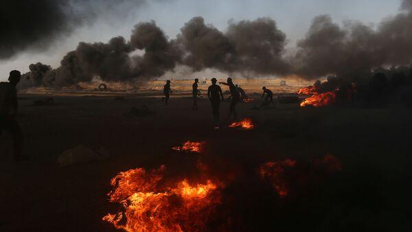 Situación en Gaza - Sputnik Mundo