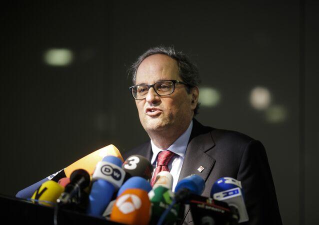 Quim Torra, el nuevo presidente del Gobierno catalán
