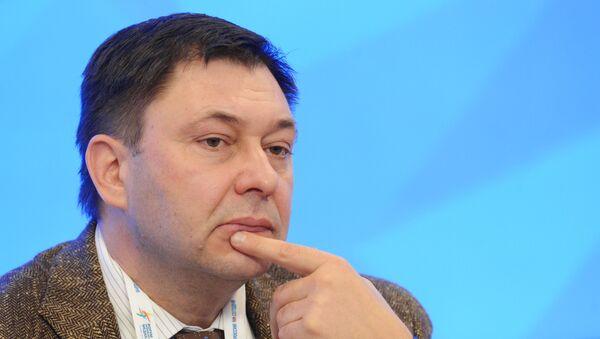 Kiril Vishinski, el jefe del portal de noticias RIA Novosti Ukraina - Sputnik Mundo