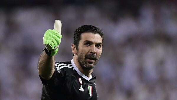 Gianluigi Buffon, portero italiano - Sputnik Mundo