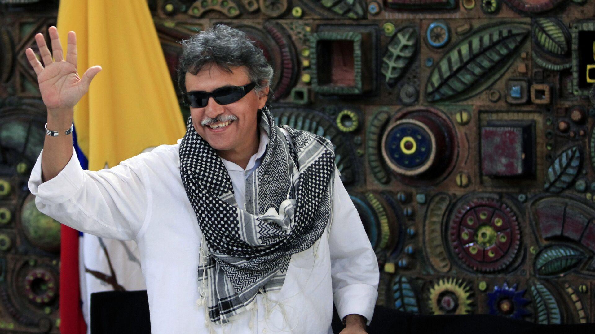 Jesús Santrich, exguerrillero colombiano, integrante del partido político FARC - Sputnik Mundo, 1920, 18.05.2021