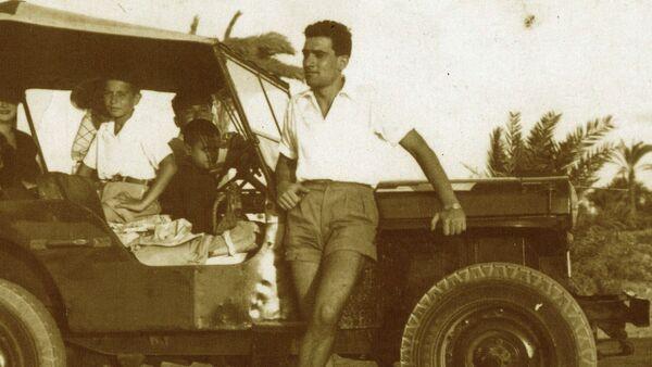 Eli Cohen en el canal de Suez - Sputnik Mundo
