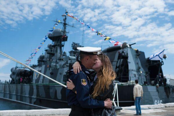 Puente de Crimea, bellezas de Cannes y boda real: las mejores fotos de la semana - Sputnik Mundo