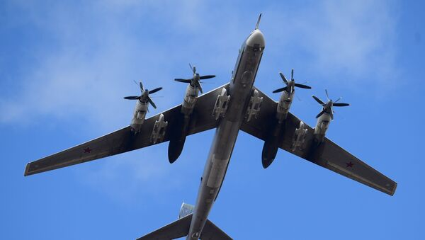 El bombardero ruso Tu-95MS - Sputnik Mundo