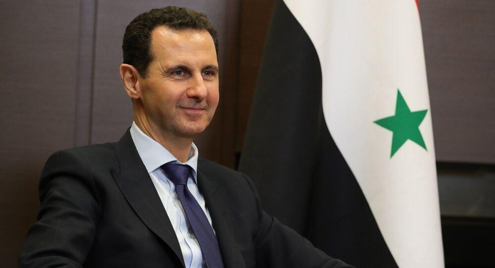 Bashar Asad, el presidente de Siria