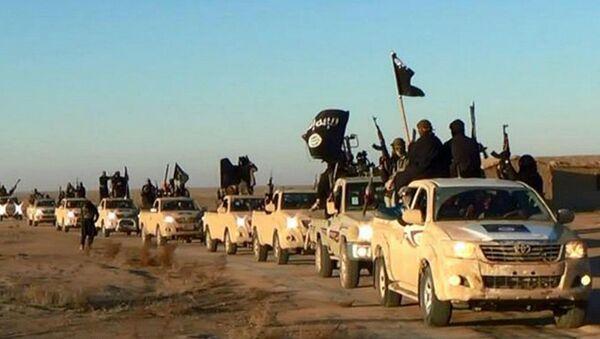 Terroristas del Estado Islámico (archivo) - Sputnik Mundo