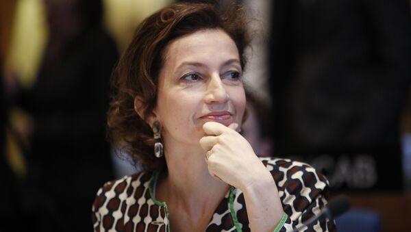 Audrey Azoulay, la directora general de la Unesco - Sputnik Mundo
