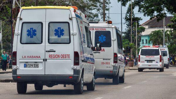 Ambulancia cubana - Sputnik Mundo