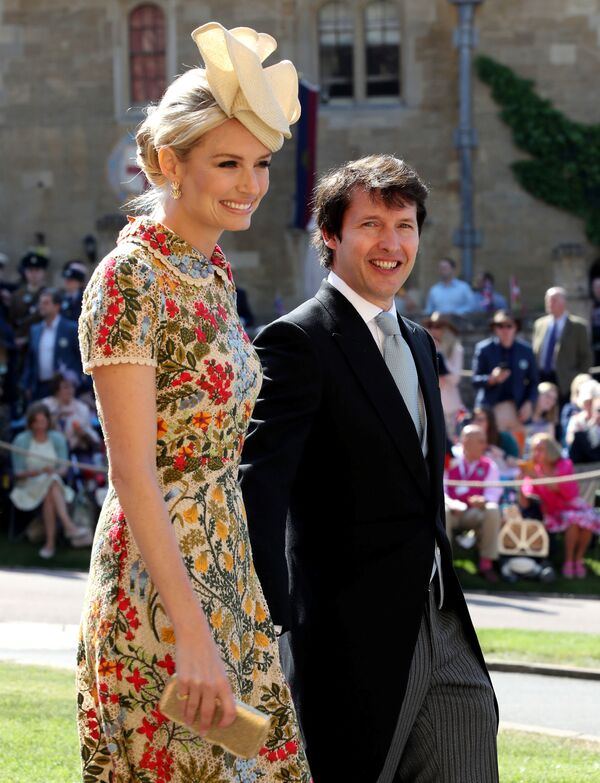 Las invitadas más bellas y elegantes de la boda real - Sputnik Mundo