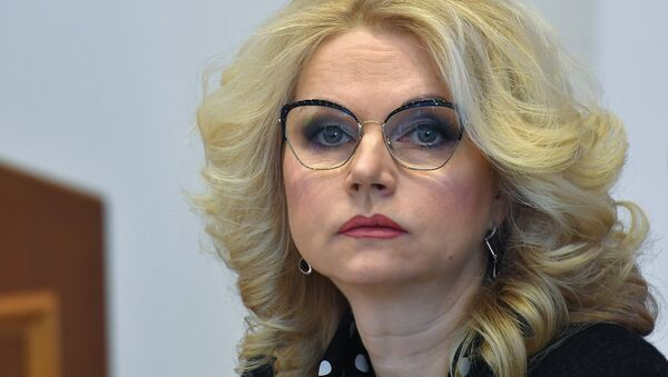 Tatiana Gólikova, vice primera ministra de Asuntos Sociales del Gobierno ruso - Sputnik Mundo