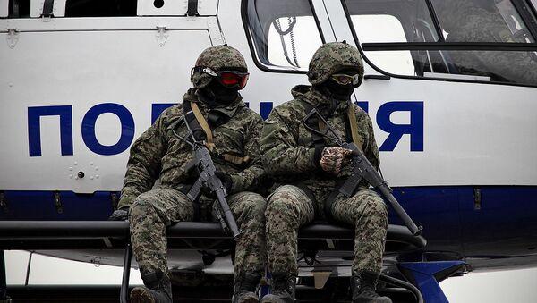 Los oficiales de la unidad Rys ('Lince', en ruso) - Sputnik Mundo