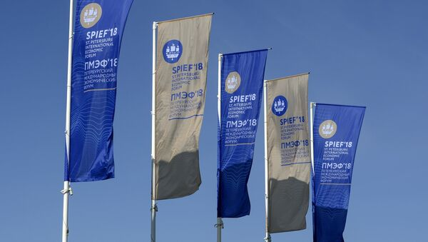 Preparativos para el Foro Económico de San Petersburgo - Sputnik Mundo