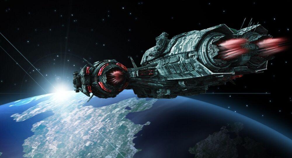 Una nave espacial (imagenreferencial)