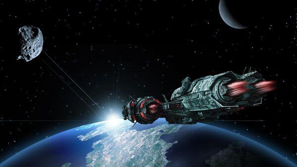 Una nave espacial (imagenreferencial) - Sputnik Mundo