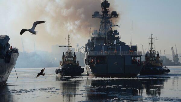 Almirante Tributs - Sputnik Mundo