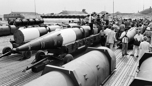 Aplicación del Tratado entre la URSS y Estados Unidos sobre la eliminación de los misiles de alcance intermedio y corto, archivo - Sputnik Mundo