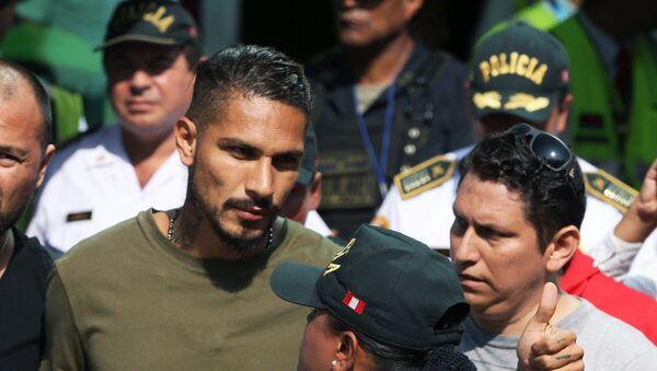 Paolo Guerrero, futbolista peruano (archivo) - Sputnik Mundo