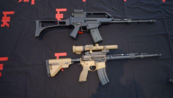 Fusiles de asalto fabricados por Heckler & Koch - Sputnik Mundo