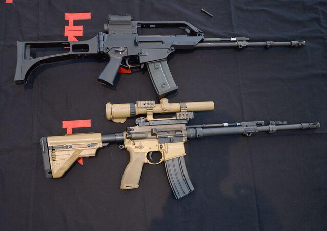 Fusiles de asalto fabricados por Heckler & Koch