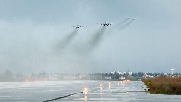 La base aérea rusa de Hmeymim - Sputnik Mundo