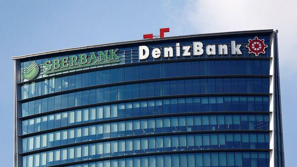 Logos de Sberbank y Denizbank - Sputnik Mundo