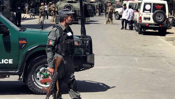 Policía de Afganistán - Sputnik Mundo