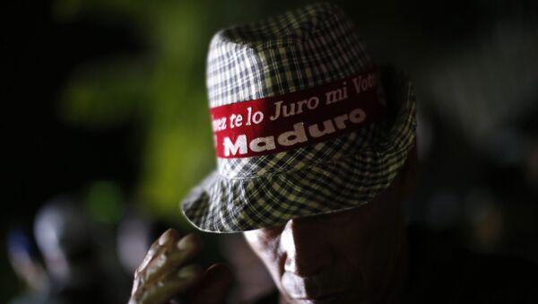 Seguidor de Nicolás Maduro en Caracas, Venezuela - Sputnik Mundo