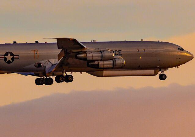 Northrop Grumman E-8C JSTARS