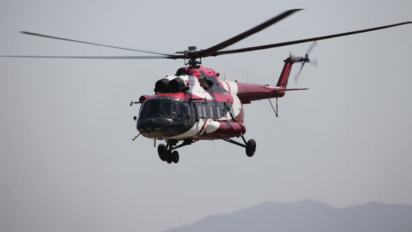 Mi-171A2 durante vuelos de prueba en Ulán Udé - Sputnik Mundo