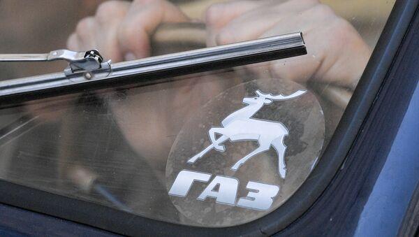 Logo de la empresa automotriz rusa Gaz - Sputnik Mundo