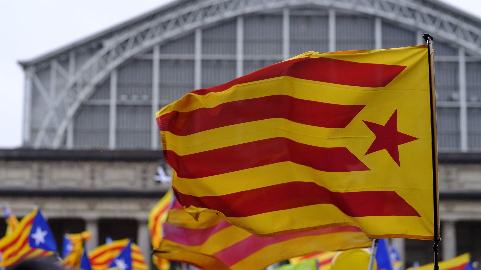 Bandera independentista de Cataluña - Sputnik Mundo, 1920, 12.05.2021