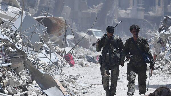 El campo de refugiados sirio (archivo) - Sputnik Mundo
