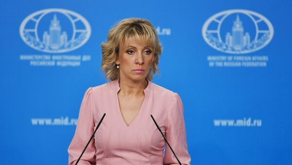 María Zajárova, la portavoz del Ministerio de Exteriores ruso - Sputnik Mundo