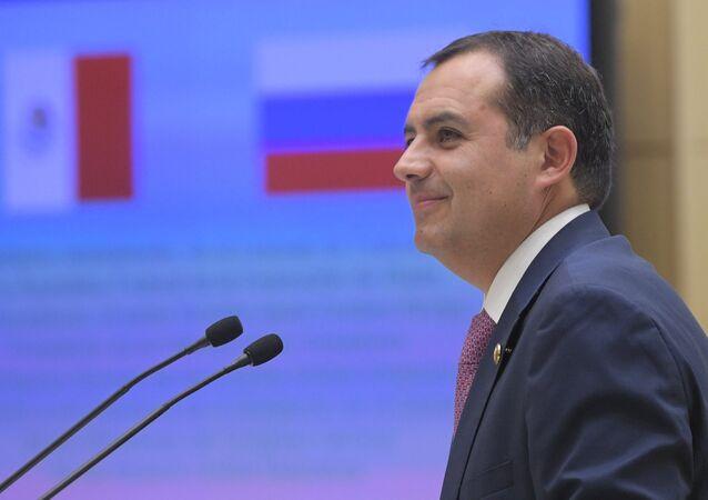 Ernesto Cordero, presidente del Senado de México