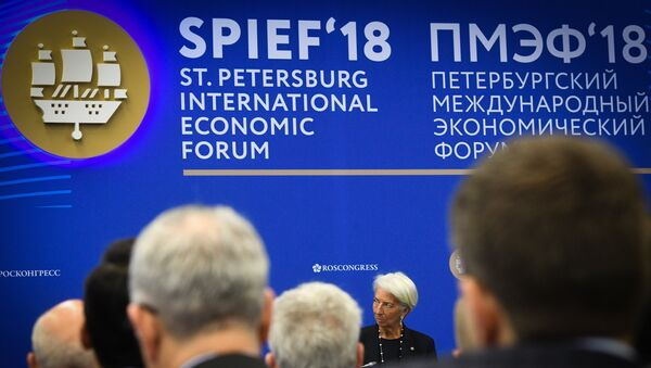 Foro Económico Internacional de San Petersburgo 2018 - Sputnik Mundo