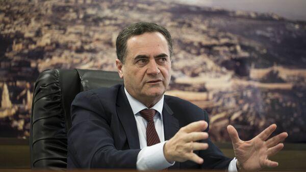 El ministro de Inteligencia y Transporte de Israel, Israel Katz - Sputnik Mundo