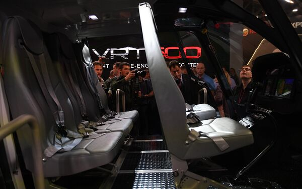 Helicóptero ligero VRT500 - Sputnik Mundo