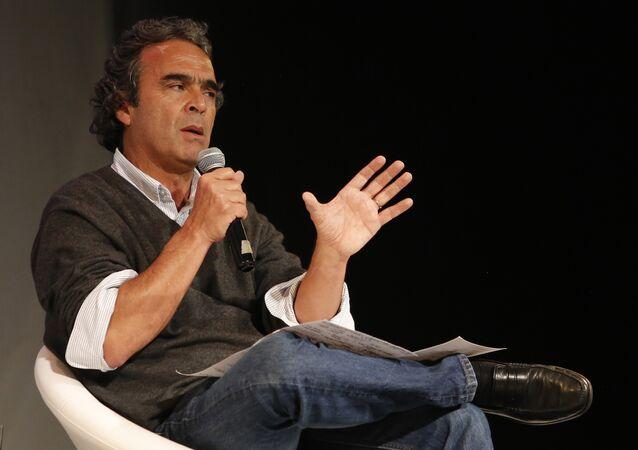 Sergio Fajardo, candidato presidencial en las elecciones en Colombia