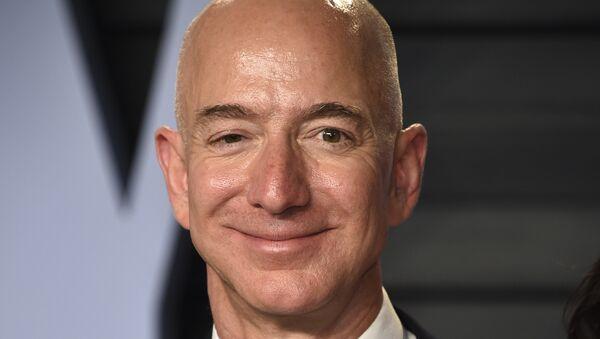 Jeff Bezos, milmillonario estadounidense - Sputnik Mundo